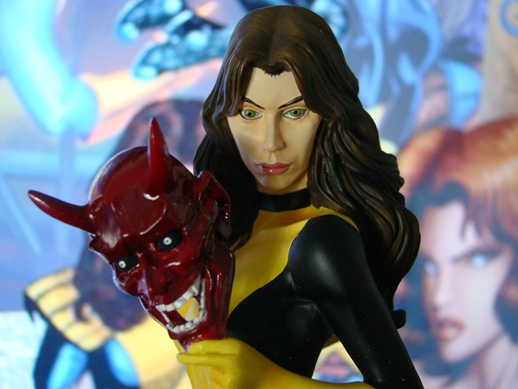 Marvel Comics Presents - The Kotobukiya Collection - Kitty Pryde Fine Art Bust