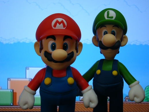 Super Mario Figure Collection – Mario & Luigi - PopCo Entertainment (2008)