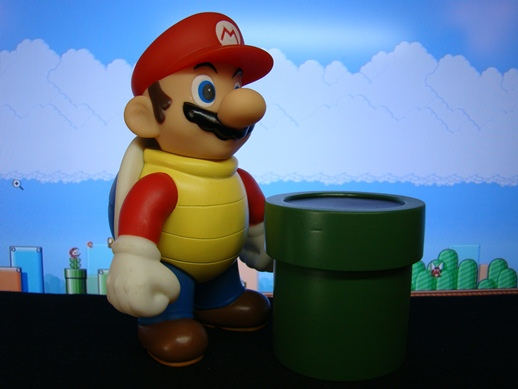 Super Mario Figure Collection – Mario in a Shell - PopCo Entertainment (2008)