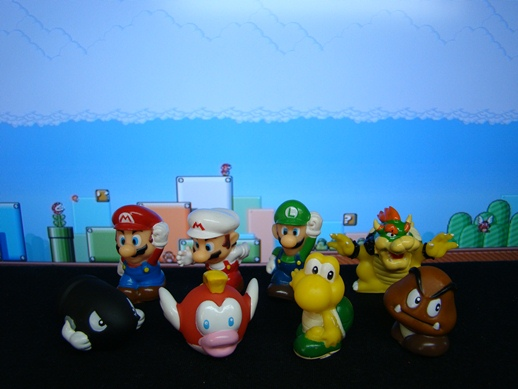 Super Mario Figure Collection – Mini Figures Set 3 - Banpresto (2008)