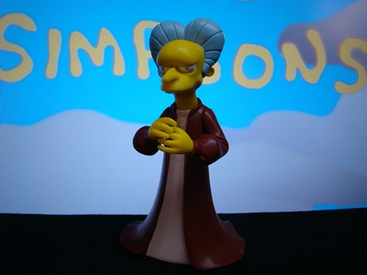 Simpsons - Mr. Burns as Dracula - Playmates Toys (2000)