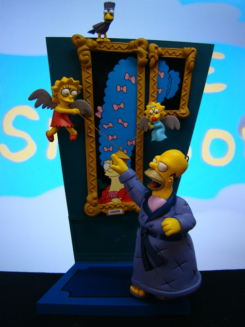 Simpsons - Treehouse of Horrors 1: The Raven - Series 2 - McFarlane Toys (2007)