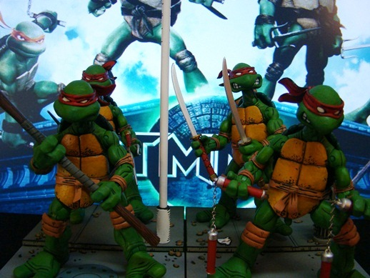 TMNT - Teenage Mutant Ninja Turtles - Neca (2008)
