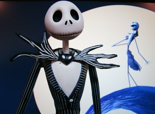 Nightmare Before The Christmas - Deluxe Jack Skellington with Interchangeable Heads - Neca (2005)