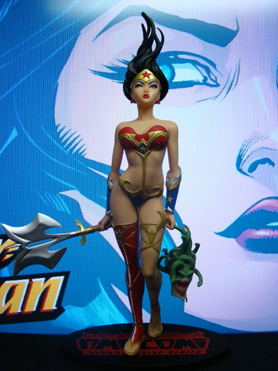 Ame-Comi Statues - Wonder Woman V.2 - DC Direct / Udon Studios (2008)