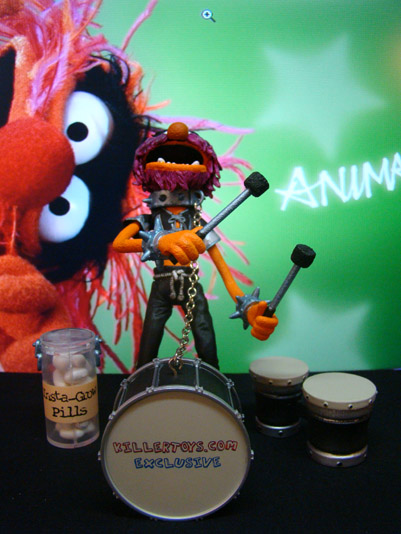 The Muppets - Animal - Killers Toys Exclusive - Palisades Toys (2004)