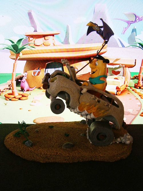Hanna-Barbera – Series # 1 – The Flinstones: Fred Flinstone in Cruiser - McFarlane Toys (2006)