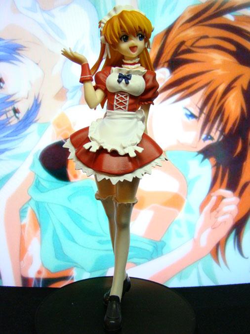 Neon Genesis Envagelion - Soryu Asuka Langley: Extra Figure (Maid Version) - Sega (2009)