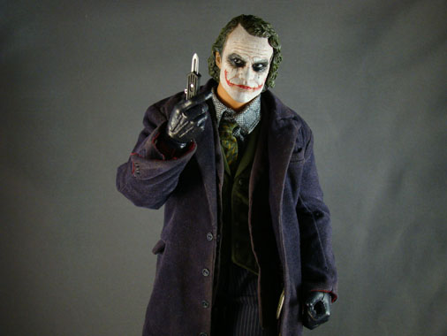 Batman The Dark Knight - 1/6 The Joker collectible figure - HOT TOYS (2009)