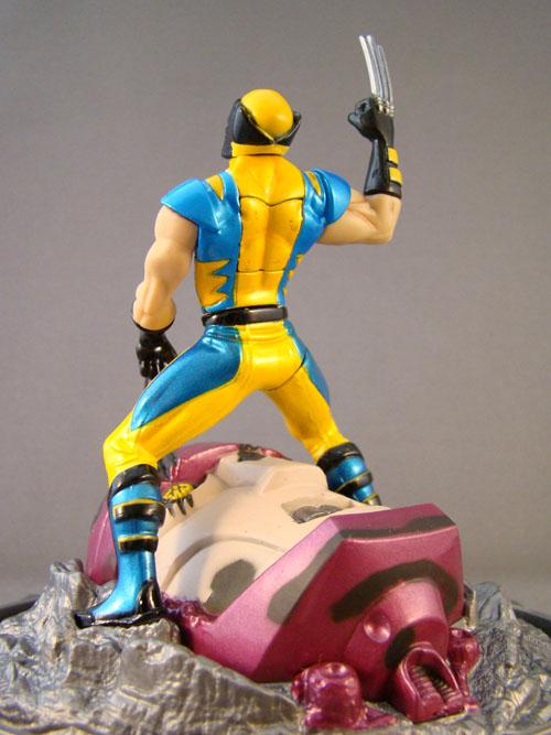 """Marvel - Titanium Series - Wolverine Die Cast 3 3/4"""" - Hasbro (2006)"""