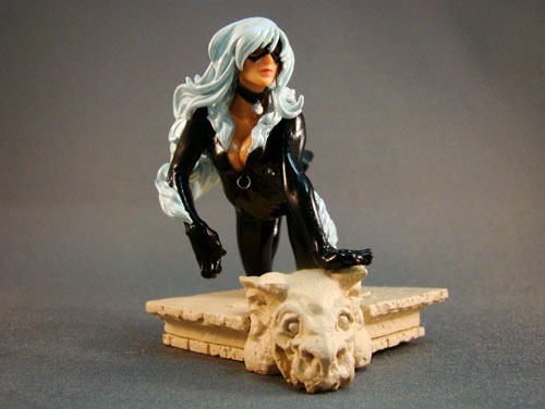 Marvel – Marvel Heroes #3 – Black Cat HG Mini Figurine Statue – Bandai (2005)