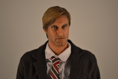The Dark Knight Movie Masterpiece - 1/6 - Two Face / Harvey Dent - HOT TOYS (2008)