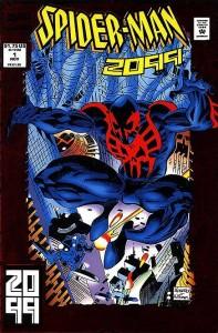 Capa de Spider Man 2099 de 1992.