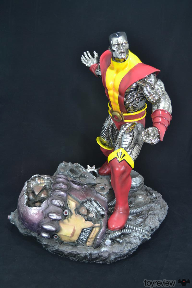 COLOSSUS_WOLVERINE_FASTBALL_SPECIAL_HALIMAW_SCULPTURES_DIORAMA_TOYREVIEW (30)