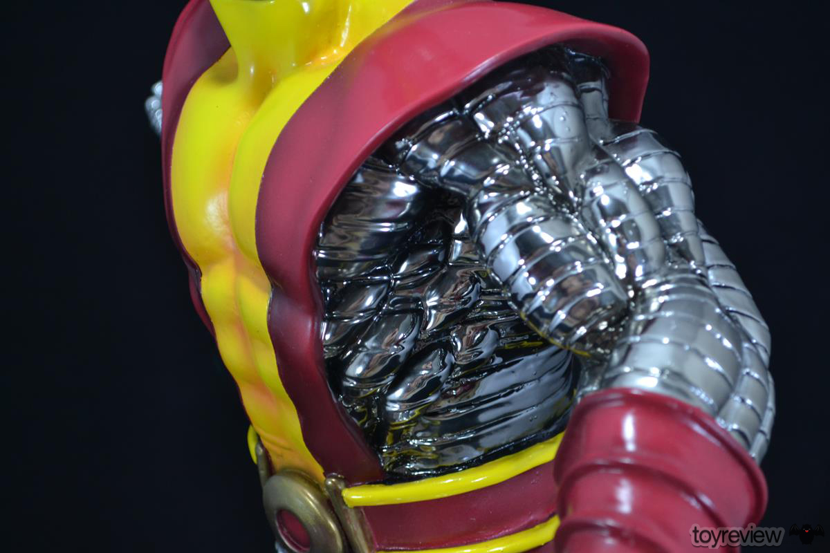 COLOSSUS_WOLVERINE_FASTBALL_SPECIAL_HALIMAW_SCULPTURES_DIORAMA_TOYREVIEW (32)