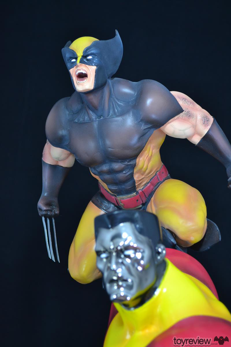 COLOSSUS_WOLVERINE_FASTBALL_SPECIAL_HALIMAW_SCULPTURES_DIORAMA_TOYREVIEW (92)