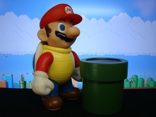 Super Mario Figure Collection – Mario in a Shell - PopCo Entertainment (2008)