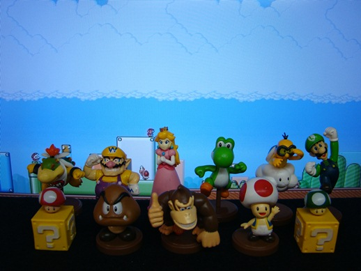 Super Mario Figure Collection – Mini Figures Set 4 – Banpresto (2008)
