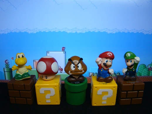 Super Mario Figure Collection – Mini Figures Set 1 - Banpresto (2008)
