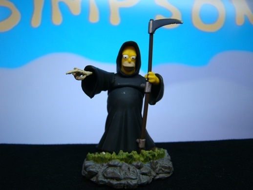 Simpsons Bust Ups - Series # 4 - Homer as Death - Gentle Giant (2006)