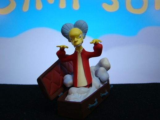 Simpsons Bust Ups - Series # 1 - Count Burns - Gentle Giant (2005)