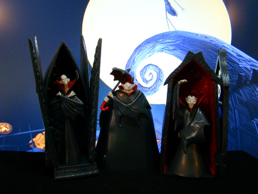 Nightmare Before The Christmas – Vampire Brothers: Opened Coffins – Neca (2001)